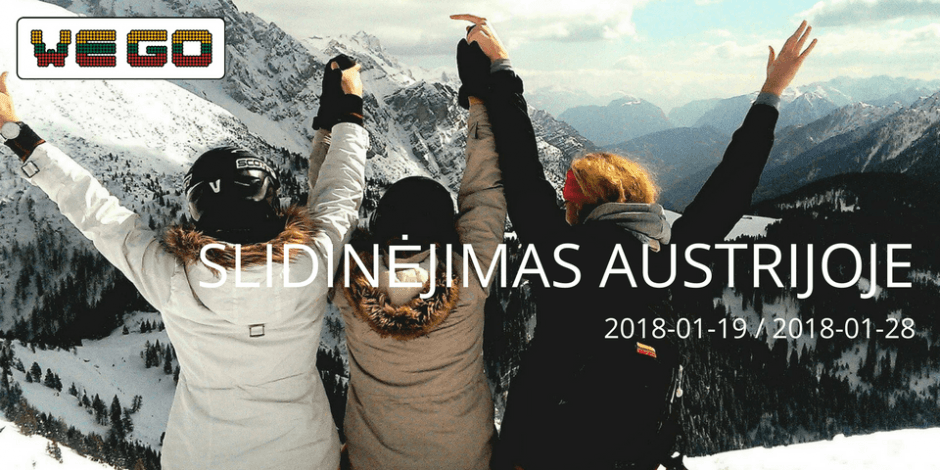 WE GO I Slidinėjimas Austrijoje (Saalbach)