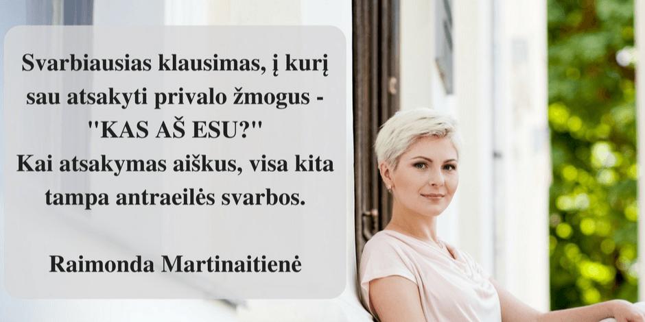 Raimondos Martinaitienės KONSULTACIJOS