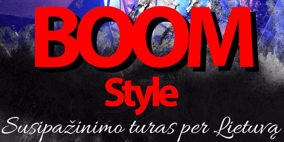 Boom Style - Susipažinimo turas per Lietuvą Birštono Kurhauze 2018-01-27