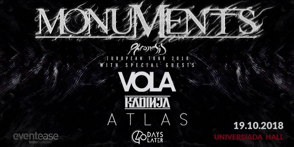 Monuments & Vola Live in Sofia