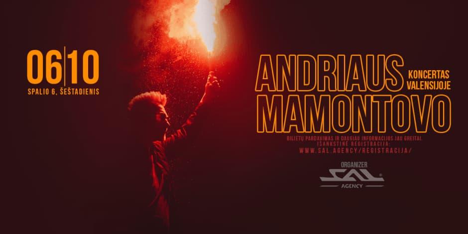 Andriaus Mamontovo koncertas Valensijoje