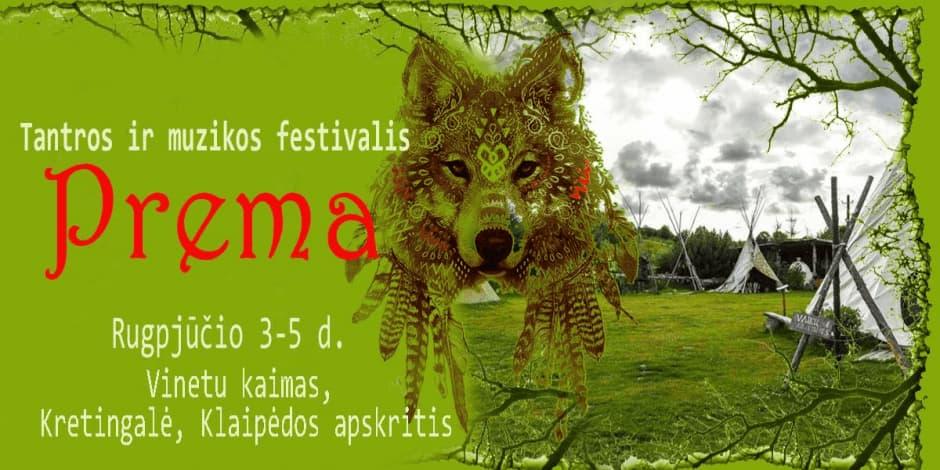 Tantros ir muzikos festivalis PREMA