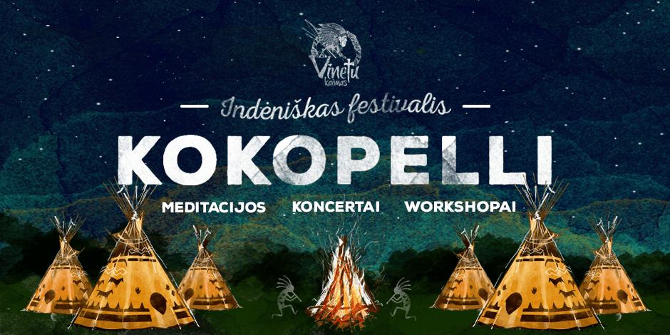 """""""KOKOPELLI""""  indėniškas Joninių festivalis"""