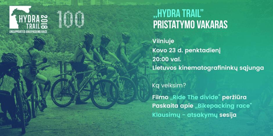 Hydra Trail 2018 pristatymo vakaras