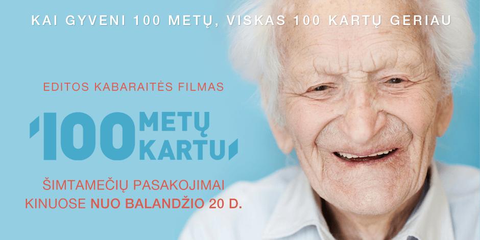 100 METŲ KARTU