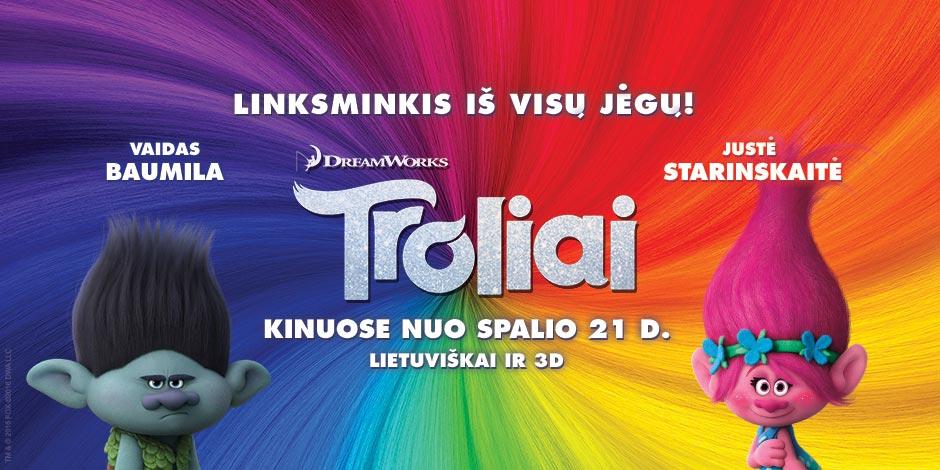 Troliai 3D (Spalio 23 d.)