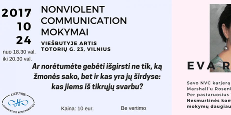 Nonviolent Communication mokymai