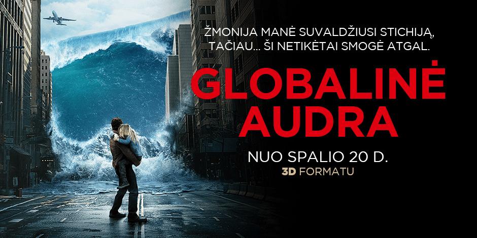 GLOBALINĖ AUDRA 3D