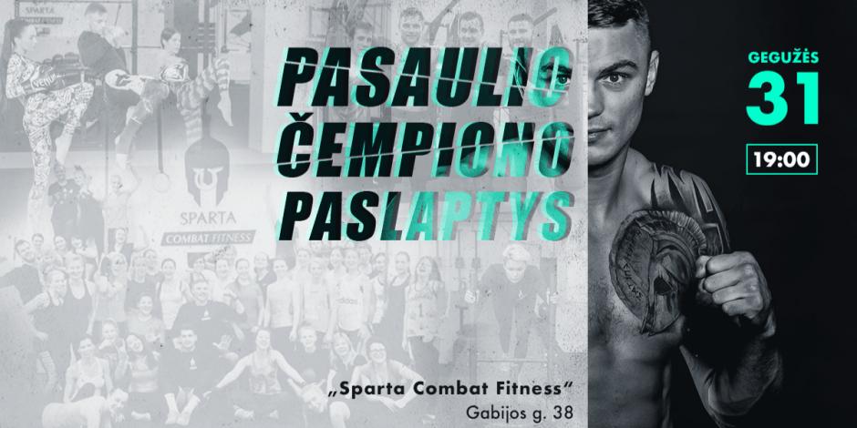 Sergejaus Maslobojevo Atvira Treniruotė | Čempiono Fizinio Pasirengimo Paslaptys