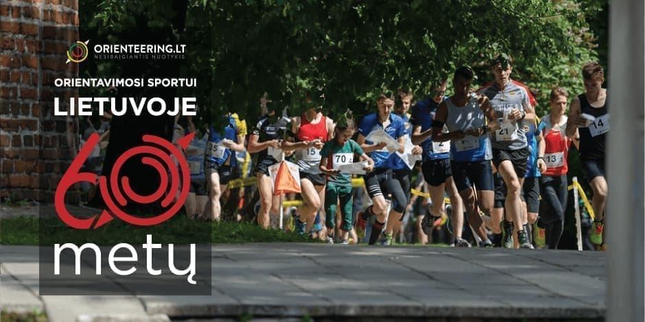 Orientavimosi sportui Lietuvoje 60 metų