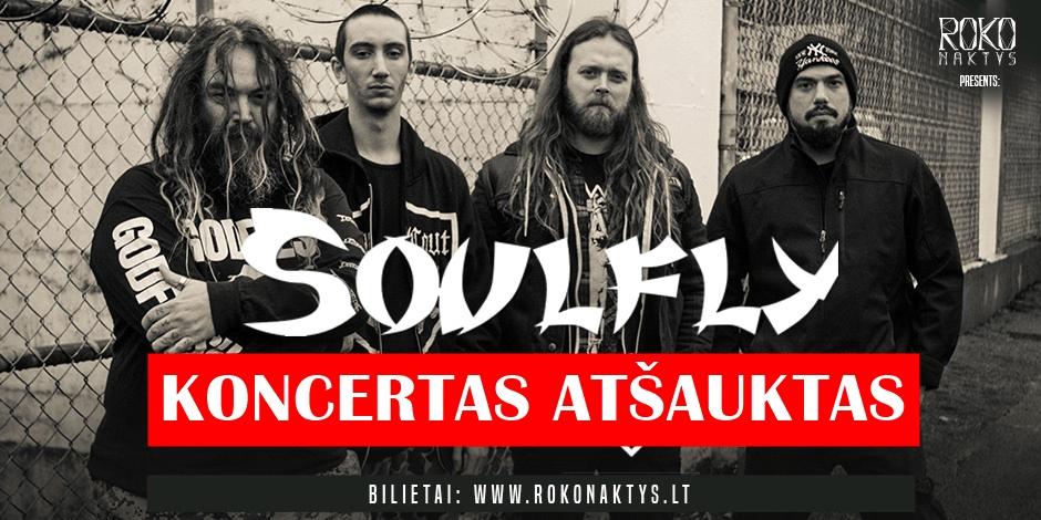 Roko naktys presents: Soulfly