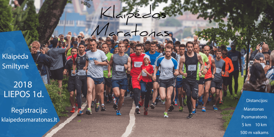 Klaipeda marathon 2018