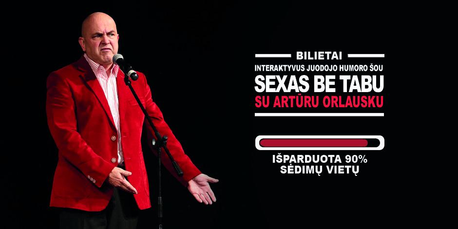 Juodojo humoro šou Olandijoje: Su Artūru Orlausku