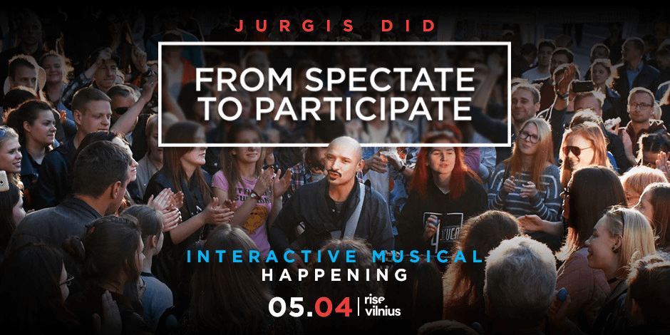 """From Spectate to Participate"" (interactive musical happening)"