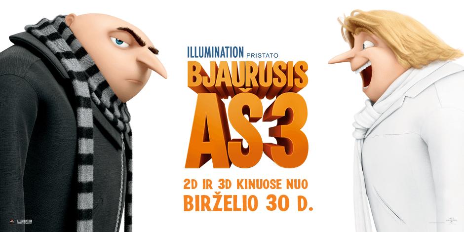Bjaurusis Aš 3 3D