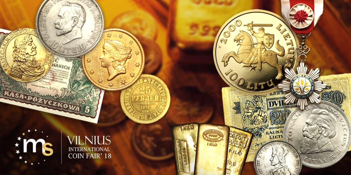 MS Vilnius International Coin Fair'18