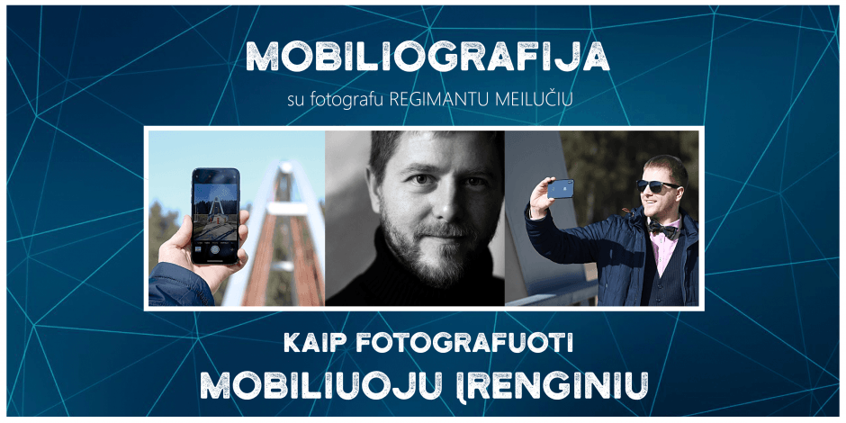 Mobiliografija su fotografu Regimantu Meilučiu Vilniuje