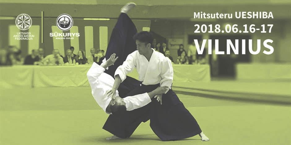 Mitsuteru Ueshiba Aikido seminaras Vilniuje