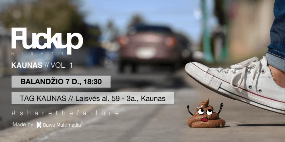 FuckUp Nights Kaunas vol. 1