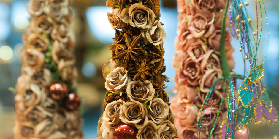 Kursai floristams - Kalėdos 2017