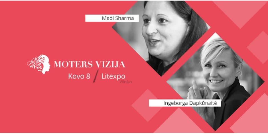 MOTERS VIZIJA | Didžioji motyvacinė konferencija moterims