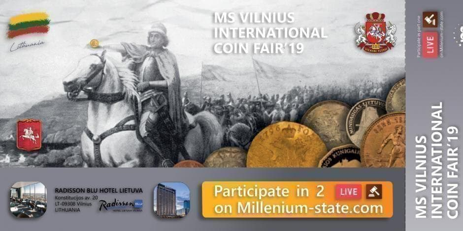 Vilnius International Coin Fair 2019