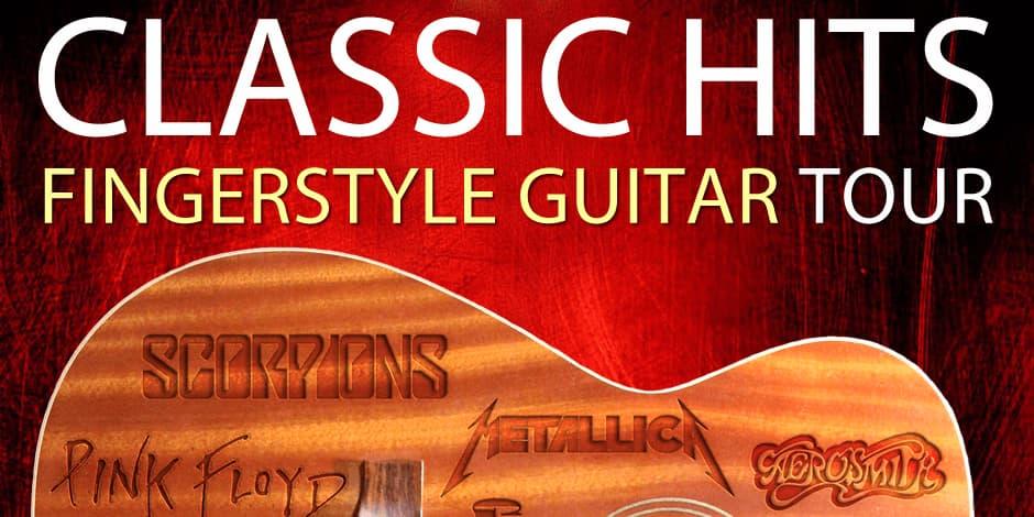 Classic Hits Fingerstyle Guitar Tour - Tomi Paldanius - Vilnius
