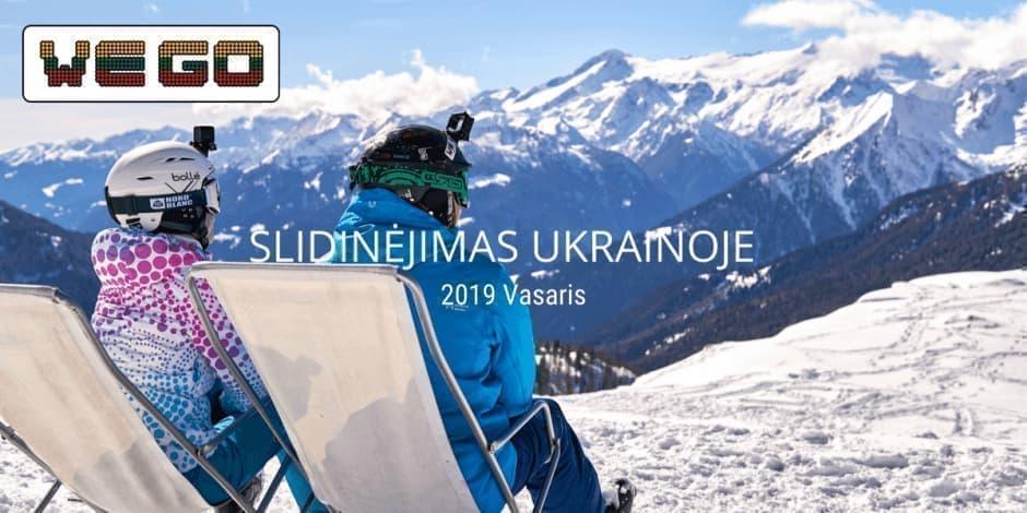 WE GO I Slidinėjimas Ukrainoje (Bukovel)