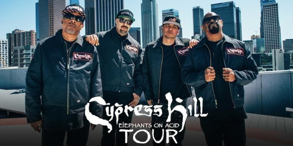 CYPRESS HILL Live in Sofia * Elephants on Acid Tour