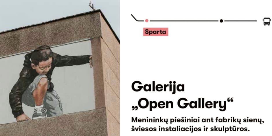 Sumenėk: Open gallery ekskursija su gidu 02.02
