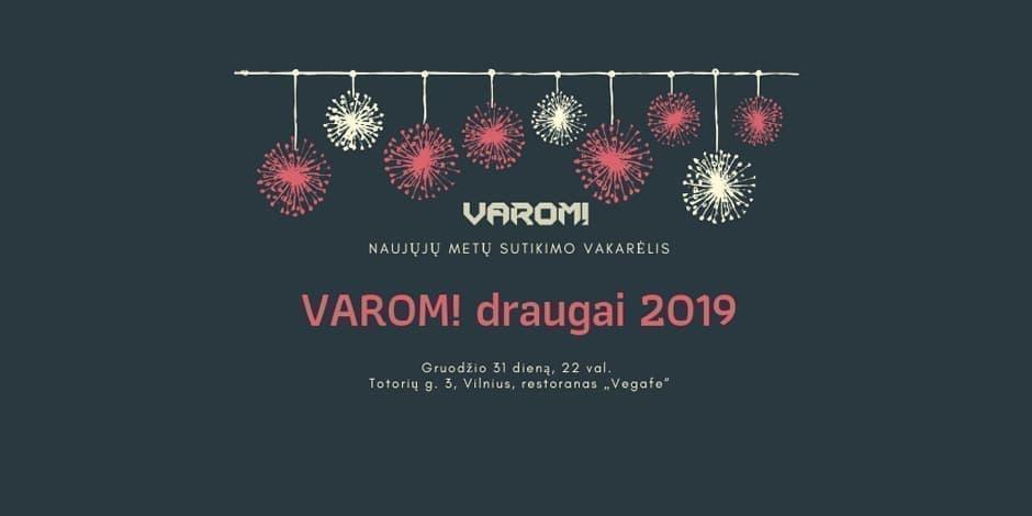 VAROM! draugai 2019