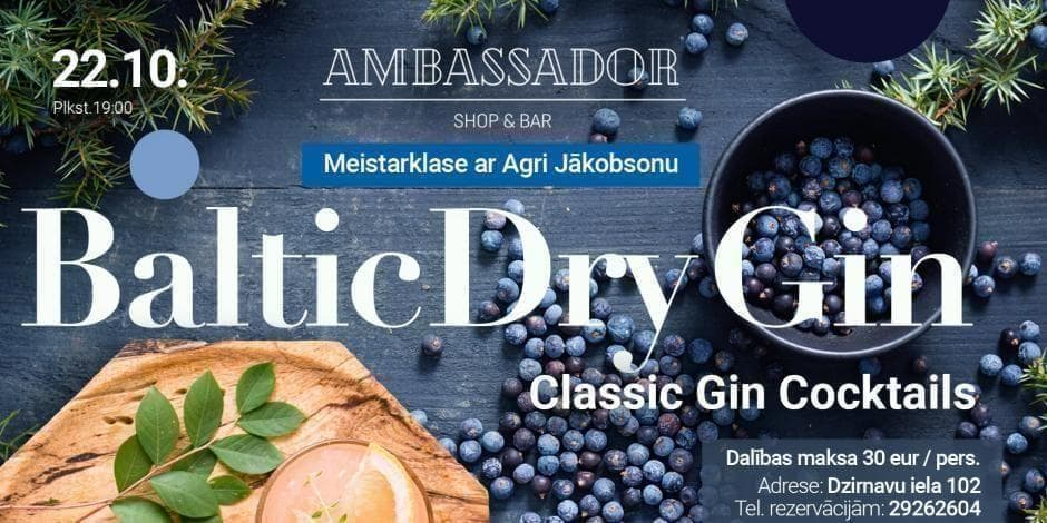 Baltic Dry Gin