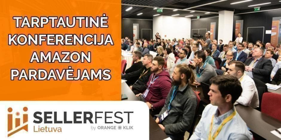 Amazon Seller Fest Lithuania 2019 - September 14-15