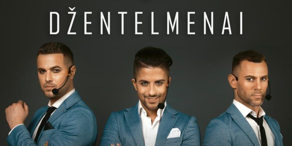 """Džentelmenai. Koncertinis turas """"Nauja pradžia"""""""