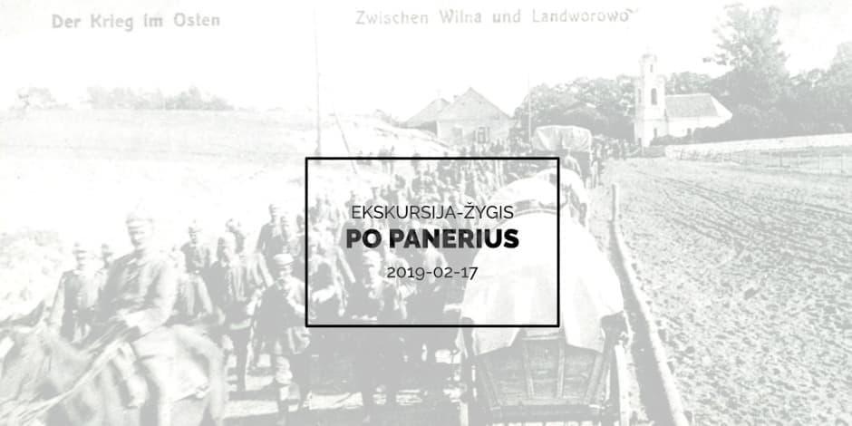 Ekskursija-žygis po Panerius