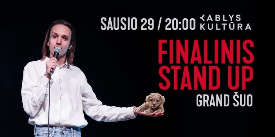 "FINALINIS STAND-UP ""GRAND ŠUO"" 01.29"