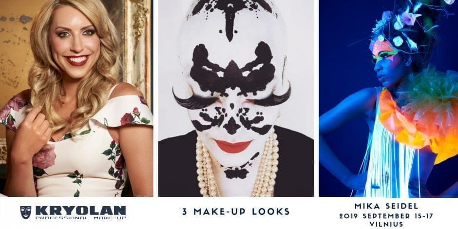 3 make-up LOOKS by Mika Seidel