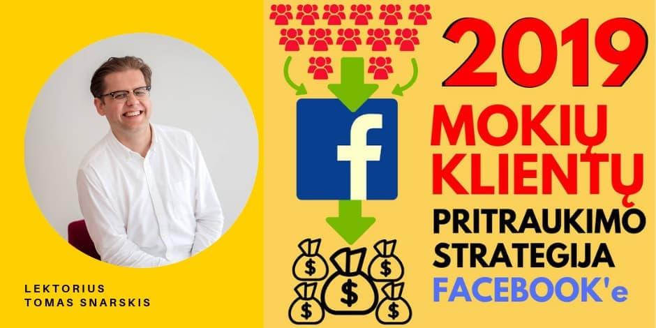 Klientų Pritraukimo Strategija Facebook'e - Naujausia Strategija