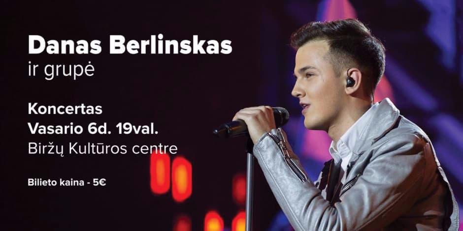 Dano Berlinsko ir grupės koncertas